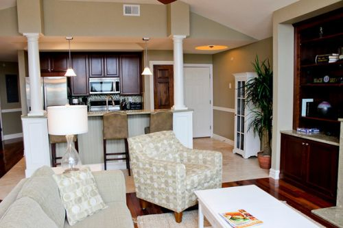 Oceanfront Kill Devil Hills Condo with Hot Tub and Fireplace
