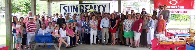 Employees of Sun Realty on the Outer Banks of NC
